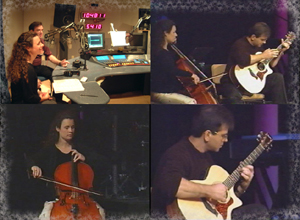 Go to the Touch the Strings Guitar/Cello Duo website
